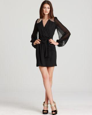 Erin Fetherston Blouson Sleeve Dress