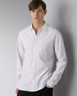Paul Smith Men's Bengal Stripe Organic Cotton Sport Shirt