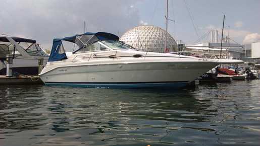 Sea Ray 270 Sundancer 1995 Used Boat For Sale In Toronto Ontario