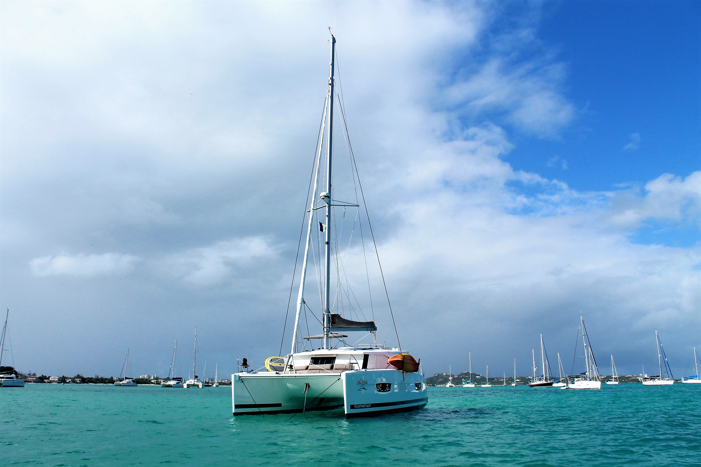 Fountaine Pajot Lucia 40 Sailing On Two Hulls Just Became
