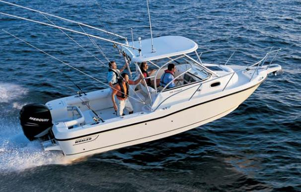 Boston Whaler 235 Conquest Boats For Sale
