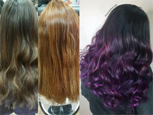 MAKEOVER Going For Proper Purple Hair Color Modern Salon