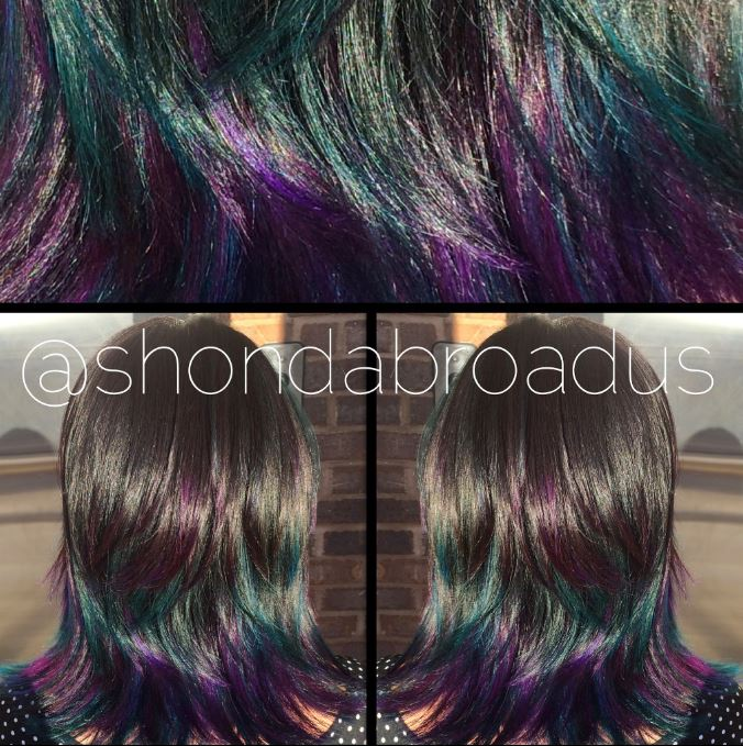 HOW TO Dull Ombre To Colors Of The Galaxy Hair Color