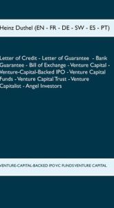 LETTER OF CREDIT LETTER OF GUARANTEE BANK GUARANTEE BILL OF EXCHANGE