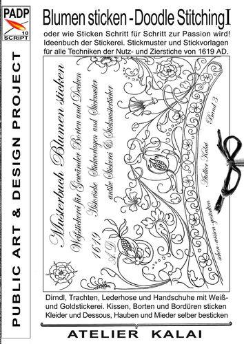 PADP Script 11 Sketch Art Technik Vogel Hirsch Und
