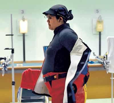 رياضية تشارك بالأولمبياد وهي حامل في الشهر الثامن