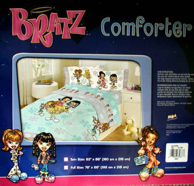 bratz girls wildflower full comforter