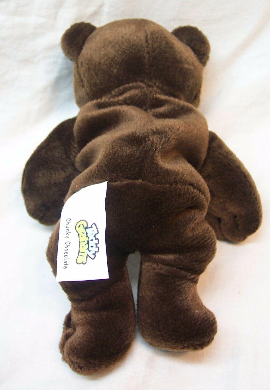 Teddy Grahams Chunky Chocolate Brown Teddy Bear 7 Bean