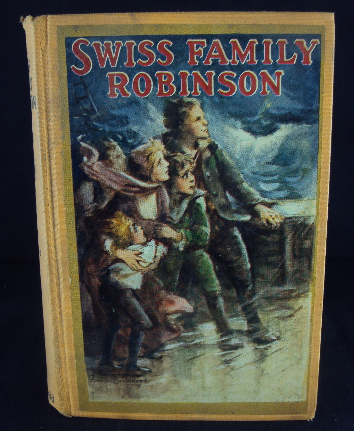 Swiss Family Robinson Book Jean Rudolph Wyss Antique