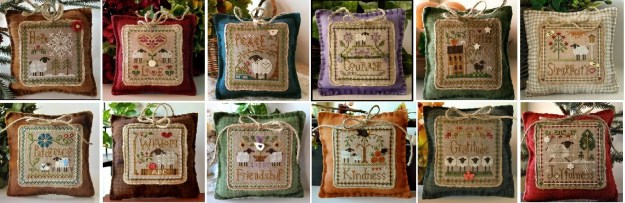 FULL BUNDLE 2013 Sheep Virtues cross stitch and 50 similar items
