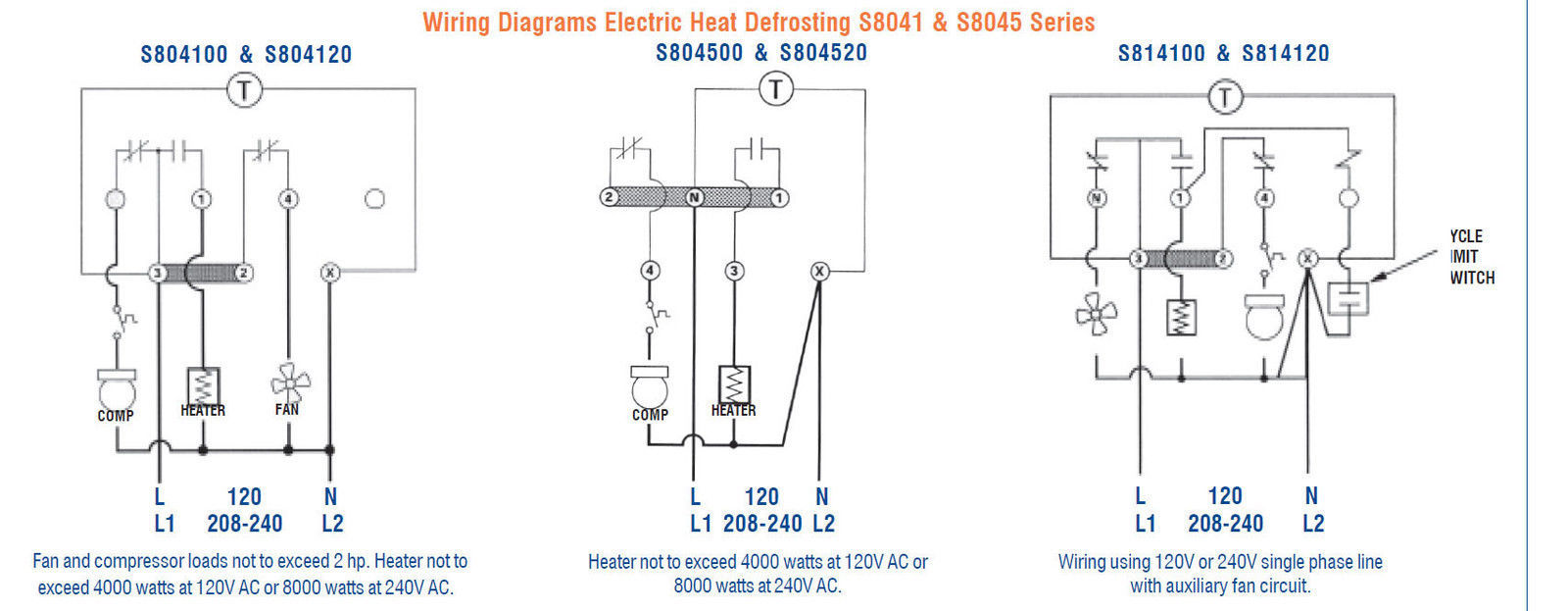 REPLACEMENT FOR PARAGON 8041-20 ELECTRO-MECHANICAL TIMER