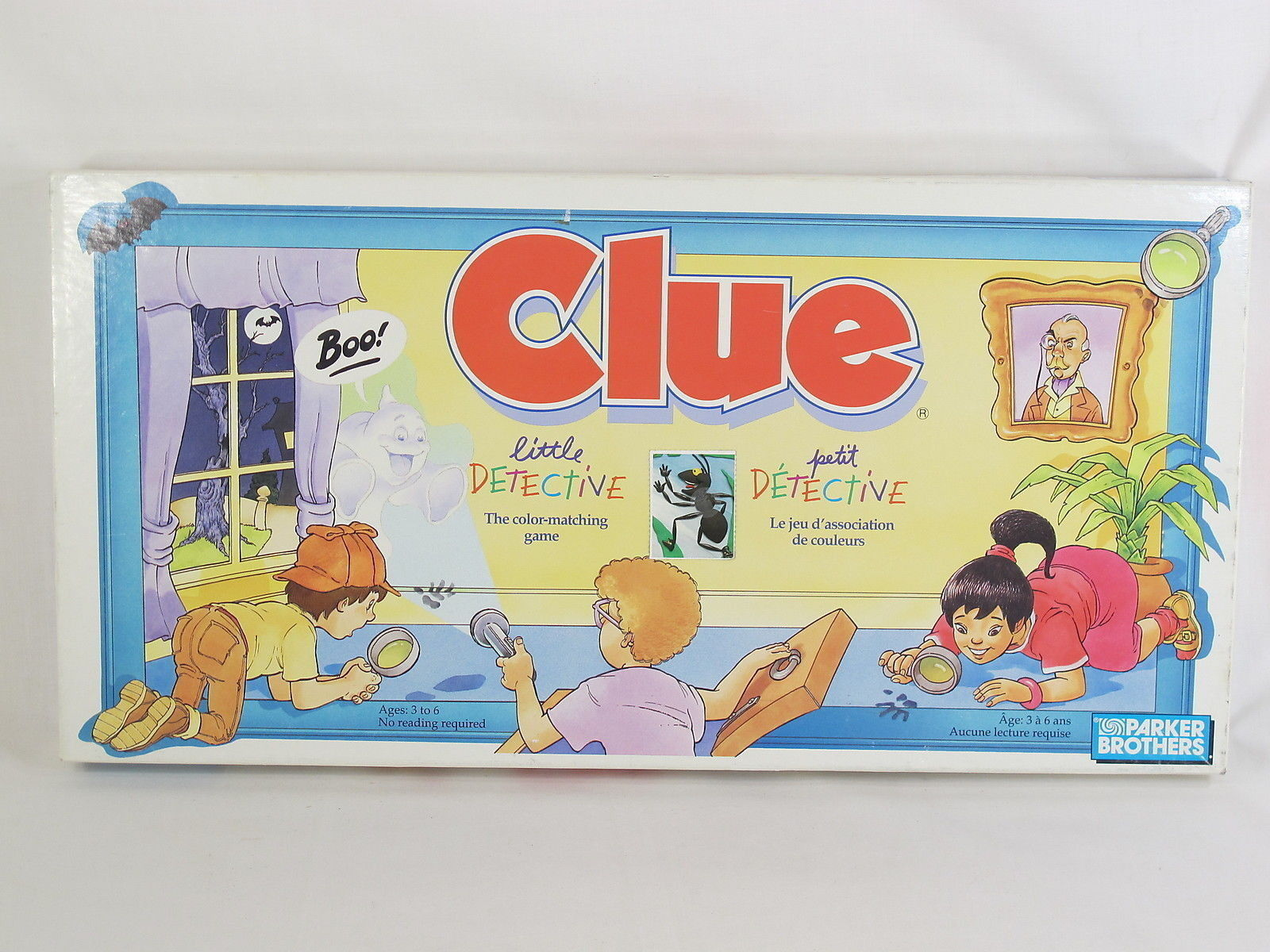 Clue Little Detective Board Game Parker Brothers
