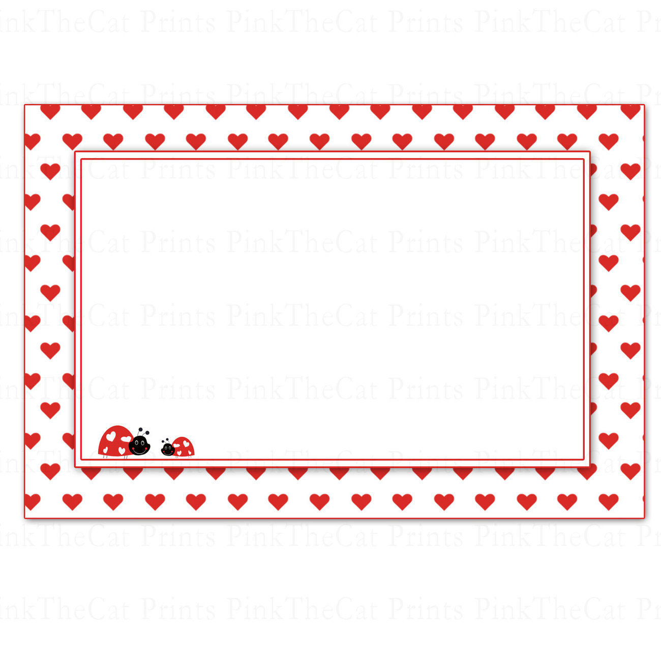 Printable Blank Valentines Love Day Note And 13 Similar Items