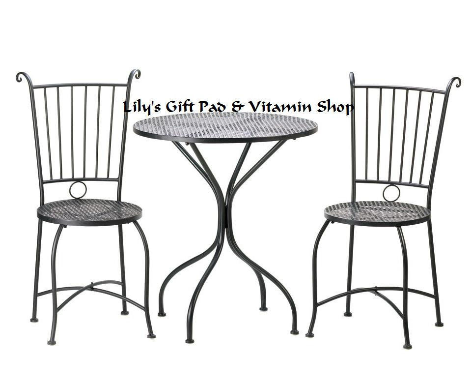 Metal Patio Table Chairs