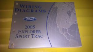 GENUINE FORD EXPLORER SPORT TRAC 2005 WIRING DIAGRAMS FCS1296505  FCS1296505  Other Business
