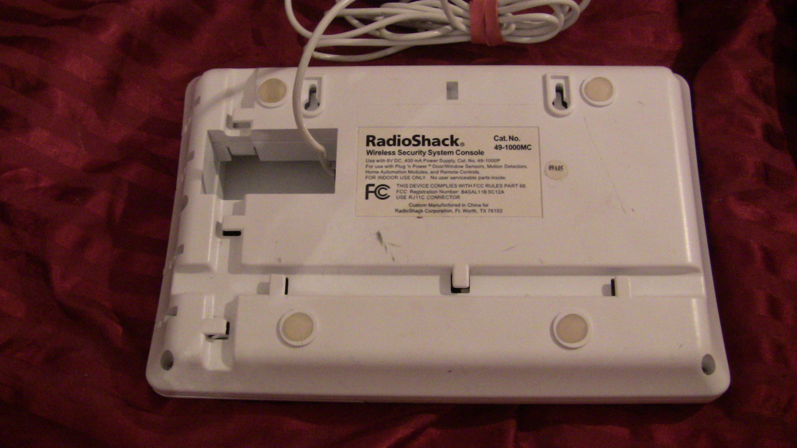 Radio Shack Wireless Home Security System 49 2551