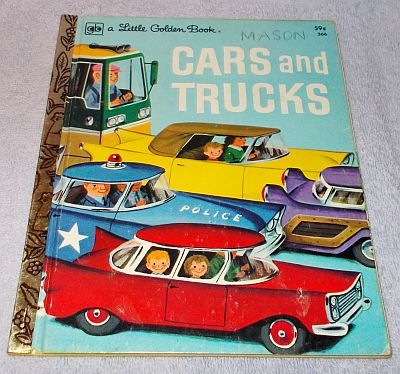 Vintage Little Golden Book Cars and Trucks Richard Scarry ...