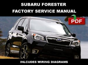 2011  2014 SUBARU FORESTER FACTORY OEM SERVICE REPAIR