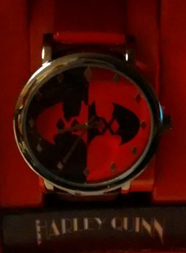 DC Comics Harley Quinn Batman Logo Watch - Wristwatches