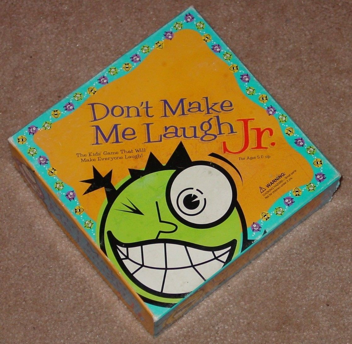 Dont Make Me Laugh Jr Instructions