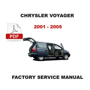 2001  2005 CHRYSLER VOYAGER & GRAND VOYAGER ELECTRICAL WIRING DIAGRAM MANUAL  Other Books