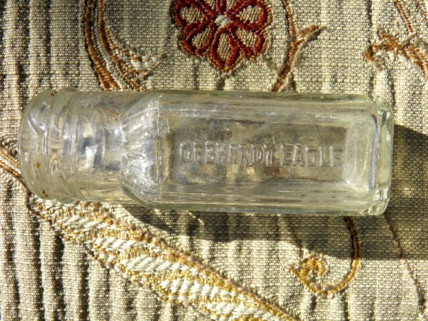 Gebhardt Eagle Chili Powder Small Clear Glass Bottle ...