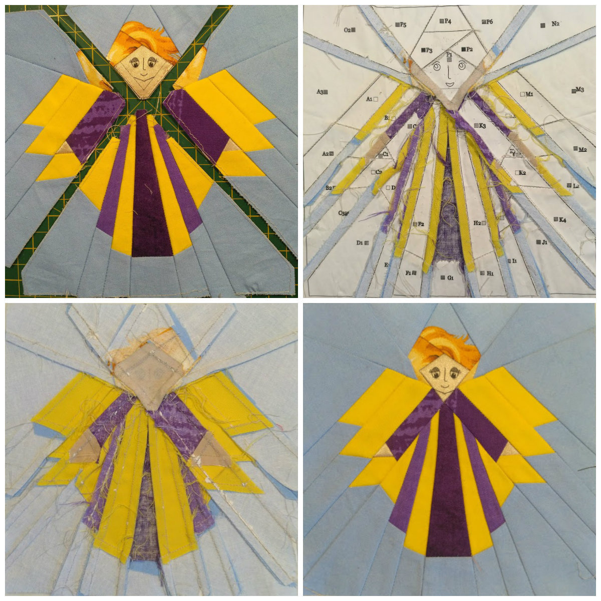 Beginner Quilt Patterns Guardian Angel And Similar Items