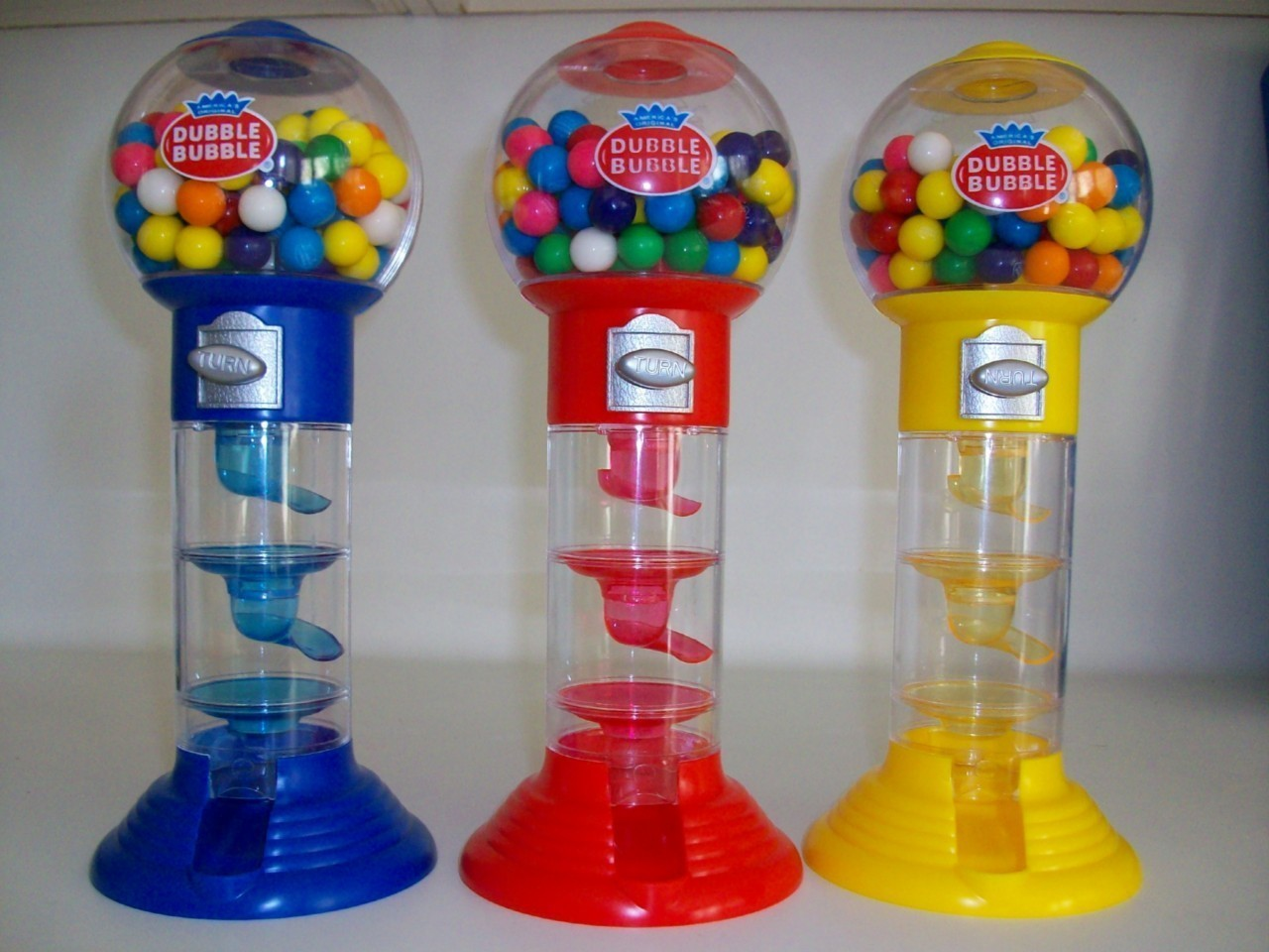 10 5 Gumball Dubble Bubble Machine Gum Balls New T Toy
