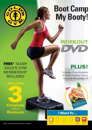 Gold's Gym Boot Camp My Booty Workout DVD [DVD] - Fitness ...