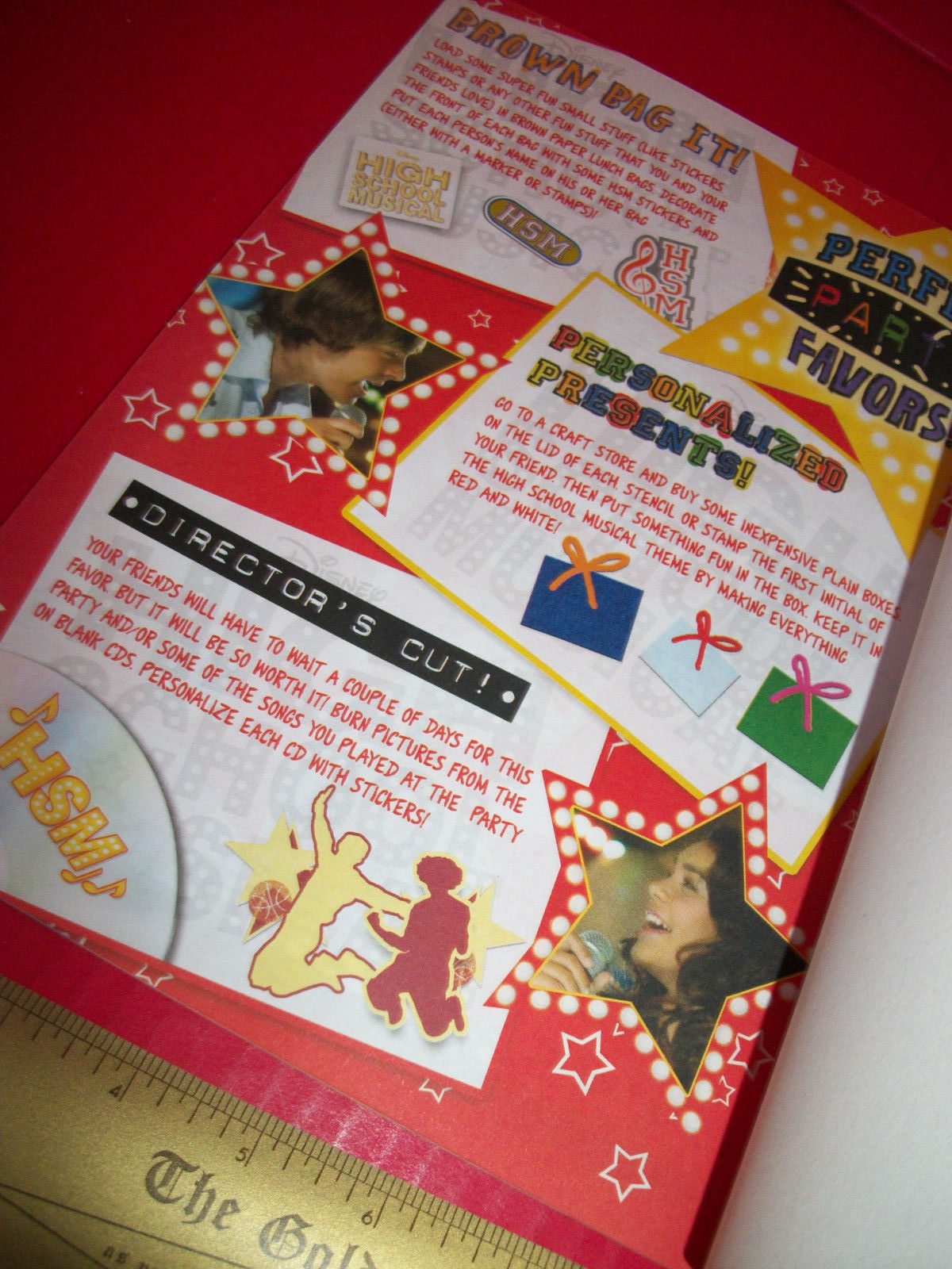 Disney Hsm Activity Booklet High School And 15 Similar Items