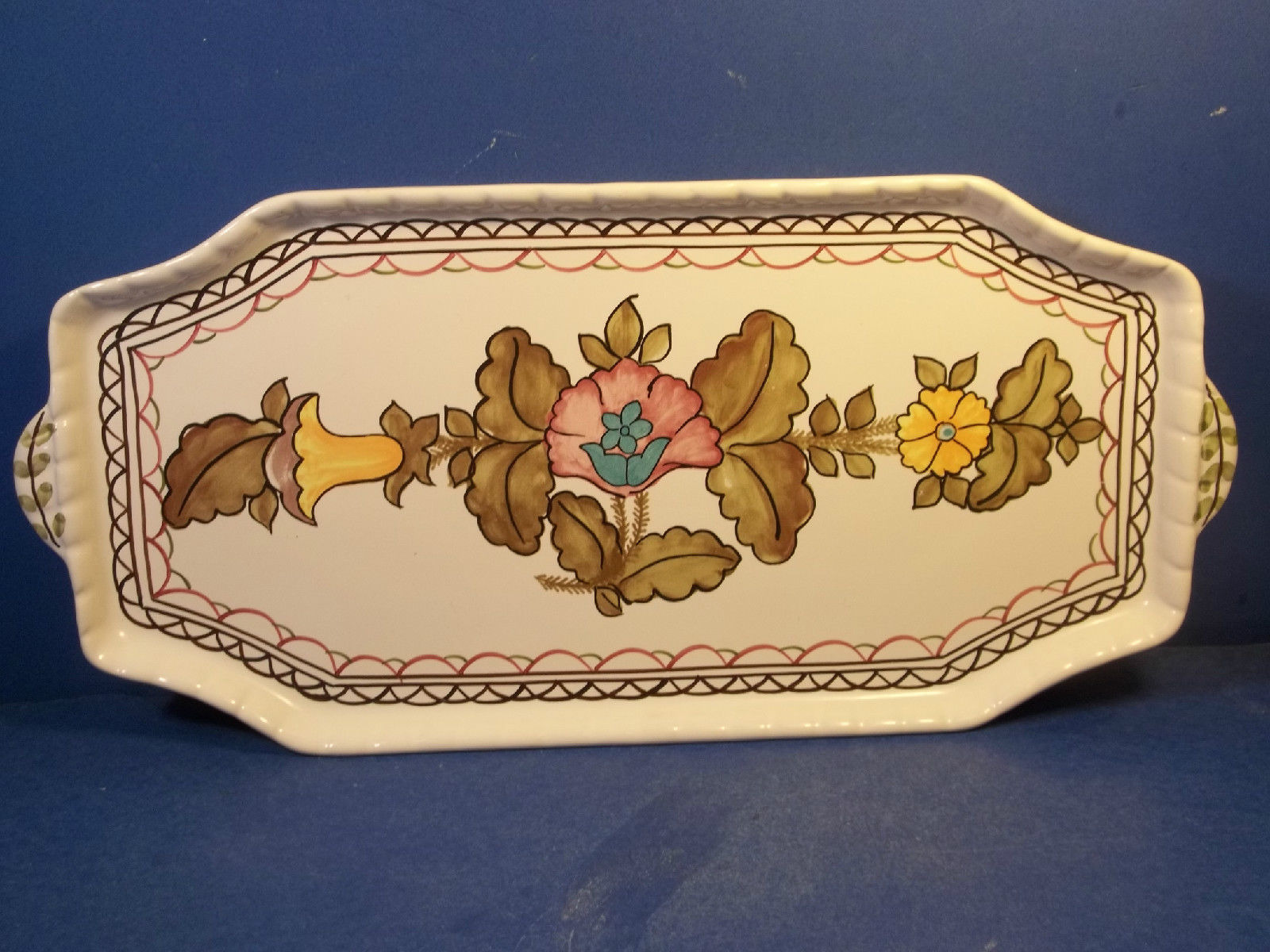 Jay Willfred Pottery Portugal Tray
