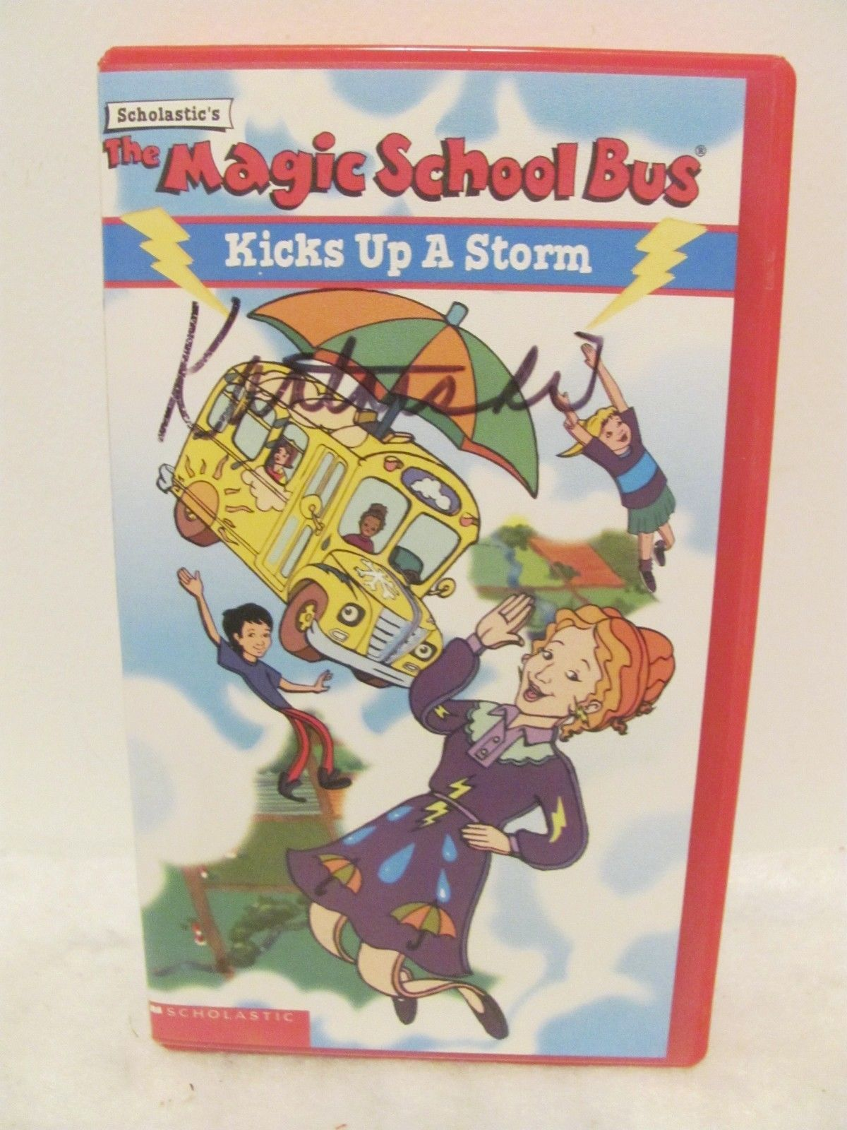 Vhs Magic School Bus The