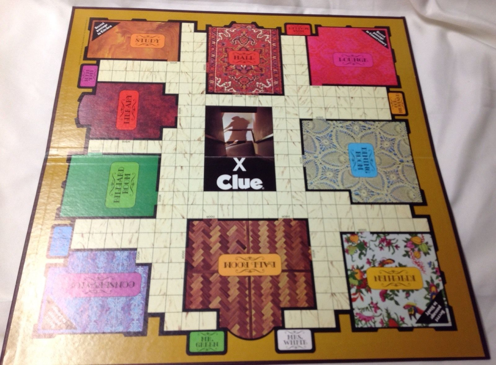 Original Clue Detective Board Game And 50 Similar Items