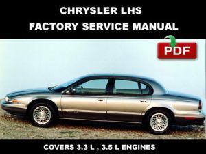 CHRYSLER LHS 1994  1997 FACTORY OEM SERVICE REPAIR FSM
