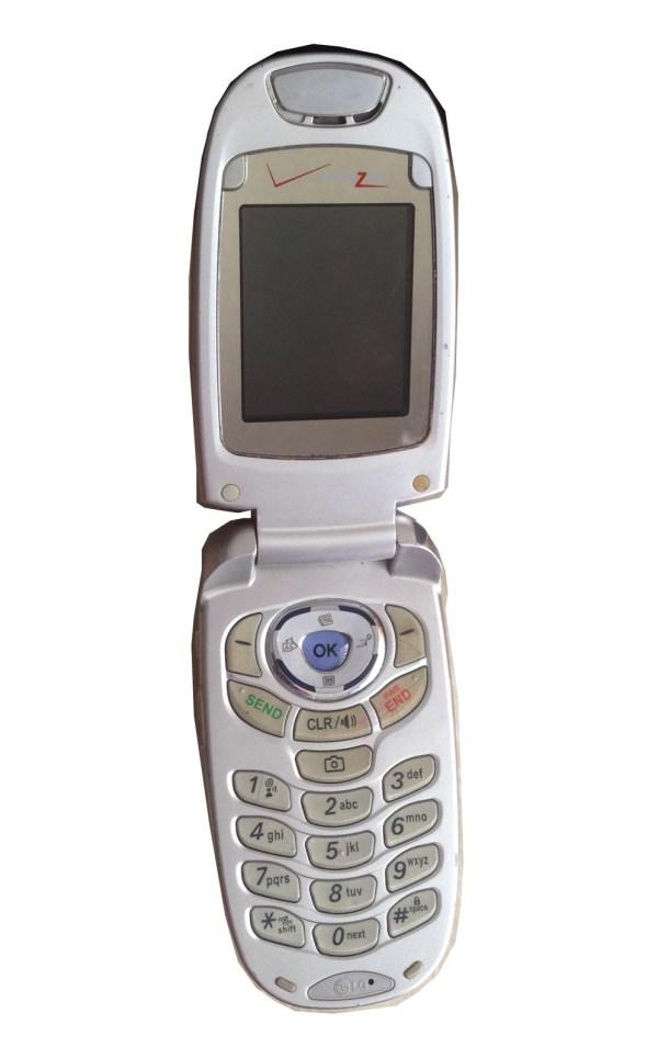 LG VX5200 Verizon Silver Flip Phone - Cell Phones ...