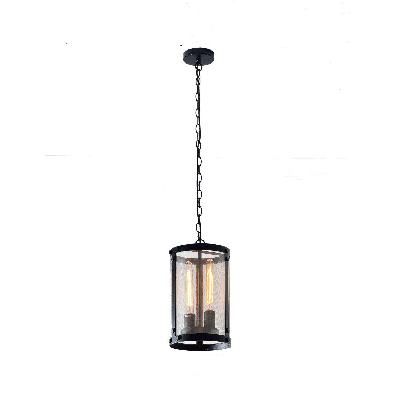 Vintage Black Industrial Pendant Light Chandelier Lighting