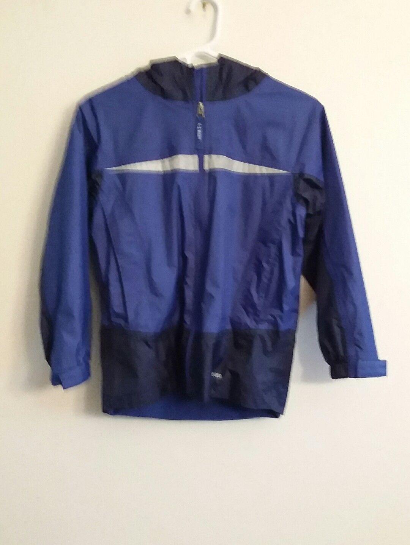 Ll Bean Boys Trail Model Rain Jacket Coat And Similar Items