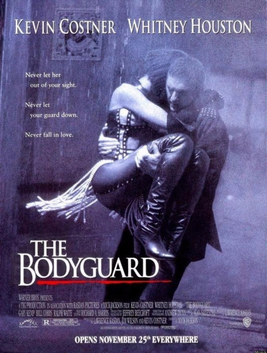 THE BODYGUARD KEVIN COSTNER WHITNEY HOUSTON LIMITED ...