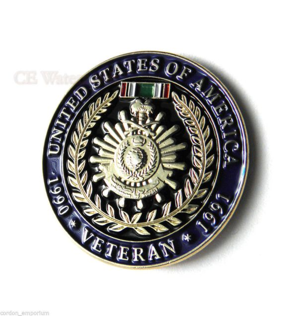 Operation Desert Storm Gulf War Veteran 1990 1991 USA ...