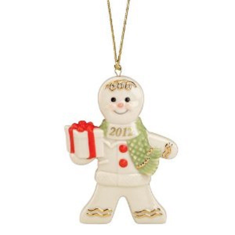 Lenox 2012 Gingerbread Man Ornament Annual And 50 Similar