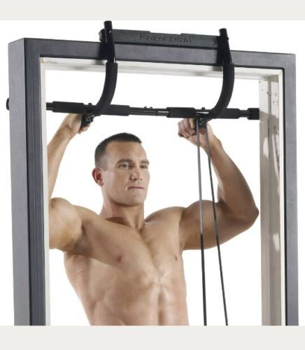 Gold's Gym 5 In 1 Door Gym Trainer Solid Steel Pull Up ...