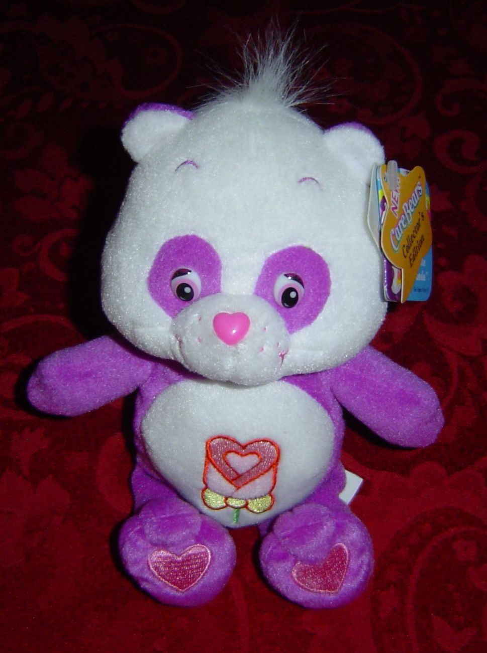 Care Bears Polite Panda Collectors Edition Series 4 5 8 Plush Care Bears