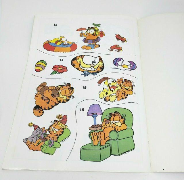 Vintage Garfield Autocollant Amusant Livre and 30 similar items