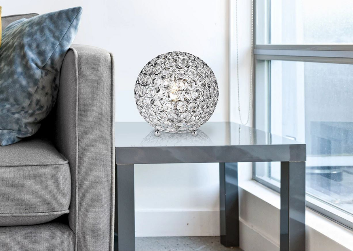 Table Lamps For Living Room Bedroom Small Crystal Ball
