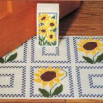 Plastic Canvas Sunflowers Tissue Cover Rug And 50 Similar Items