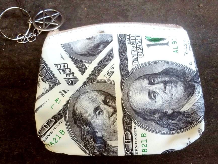 MONEY MAGNET PURSE CAST OVER THE HARVEST MOON WEALTH