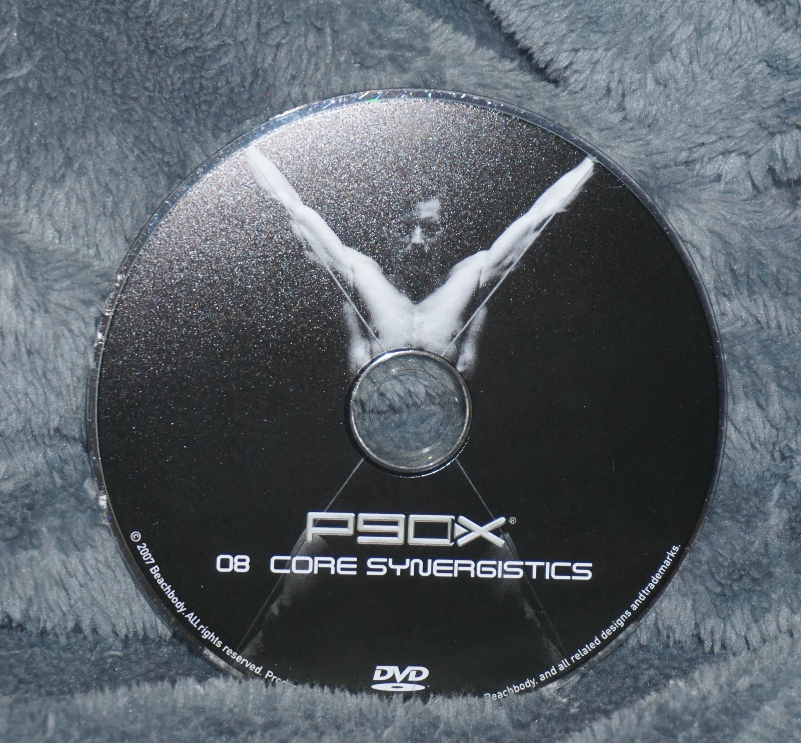 P90x Disc 8 Core Synergisticis Replacement Dvd Disc Only