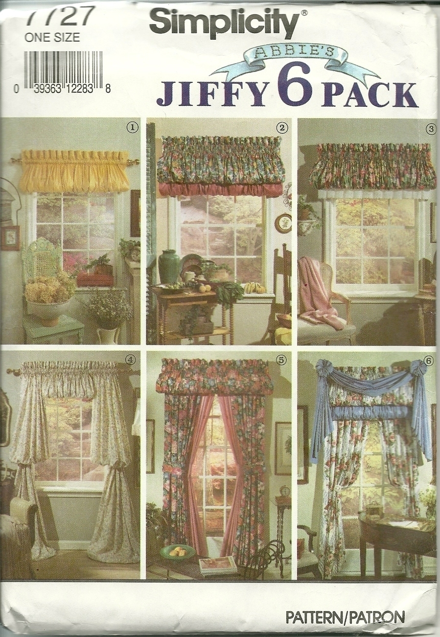 simplicity sewing pattern 7727 home