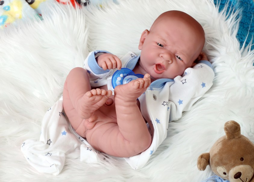 Baby Soft Vinyl Boy Doll Preemie Life Like Reborn ...