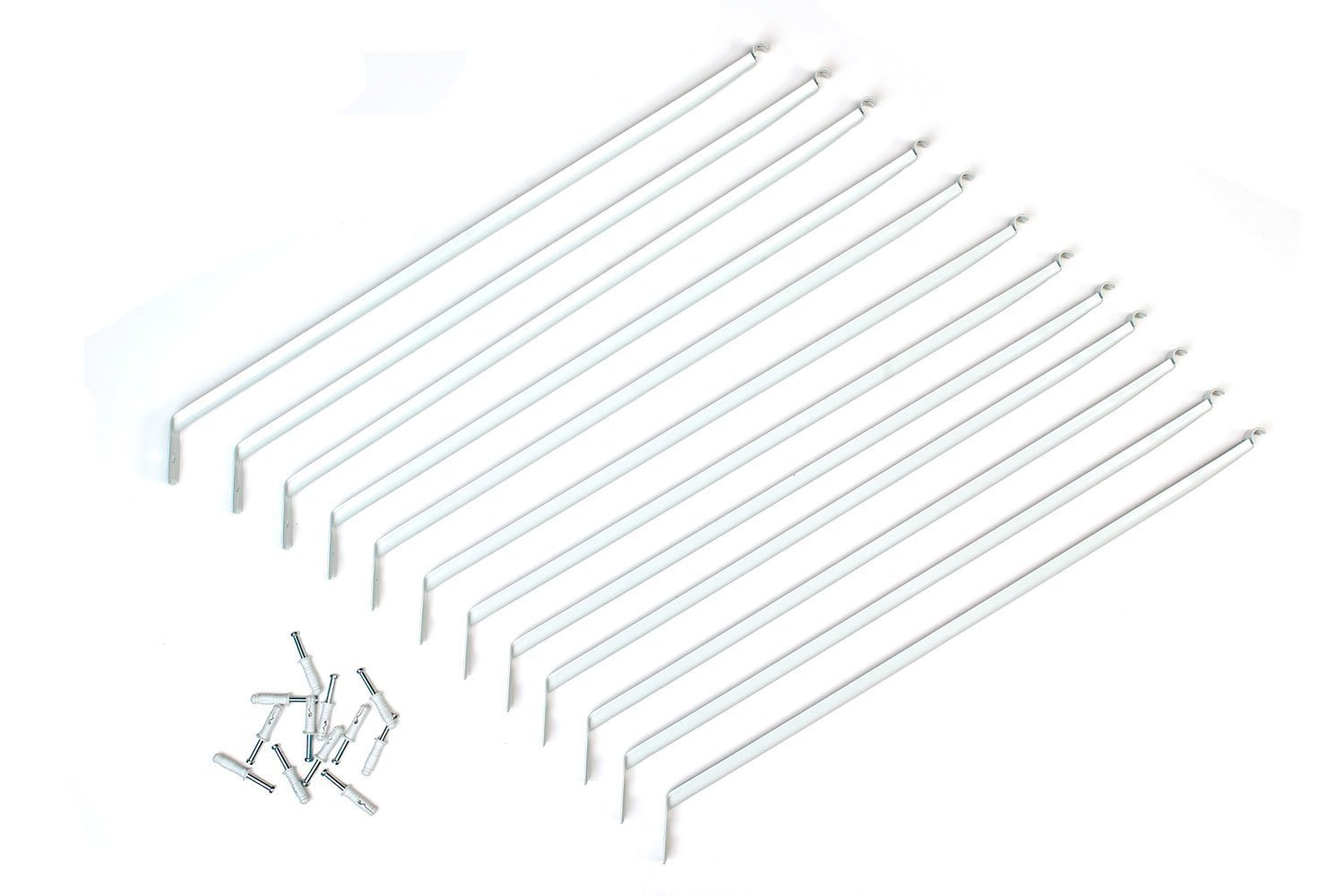 Closetmaid 12 Inch Support Brackets For Wire Shelving 12 Pack